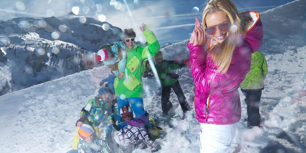 Action in Obertauern, Skiurlaub