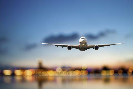 Anreise nach Obertauern - Flugzeug