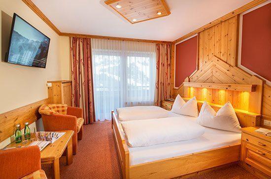 Doppelzimmer in Obertauern, 3 Sterne Hotel Tyrol, Salzburg