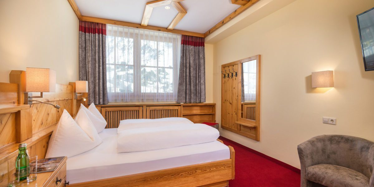 Doppelzimmer in Obertauern, Hotel Garni Haus Tyrol
