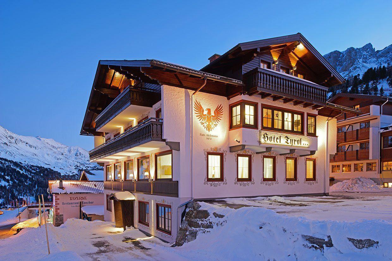 Außenaufnahme Winter - Hotel Tyrol Obertauern, Salzburger Land