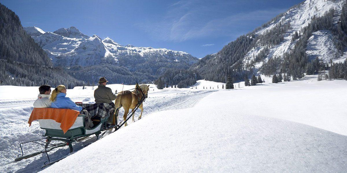 Pferdeschlittefahrten in Obertauern, Skiurlaub