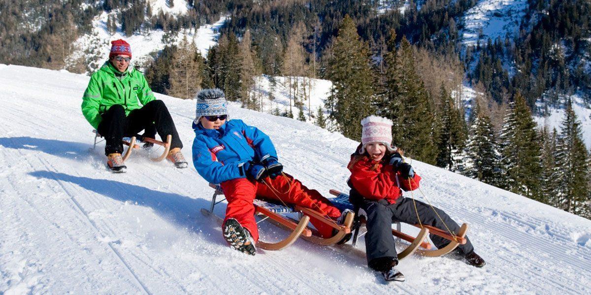 Rodeln in Obertauern, Skiurlaub