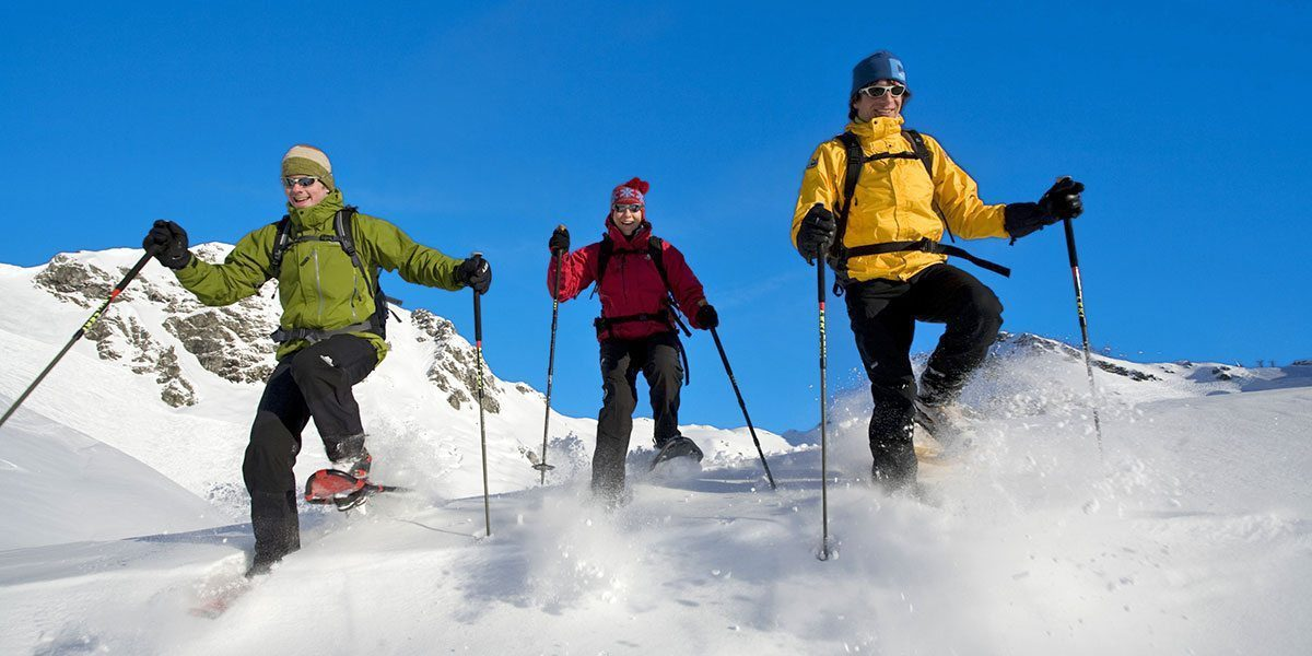 Schneeschuhwandern in Obertauern, Skiurlaub