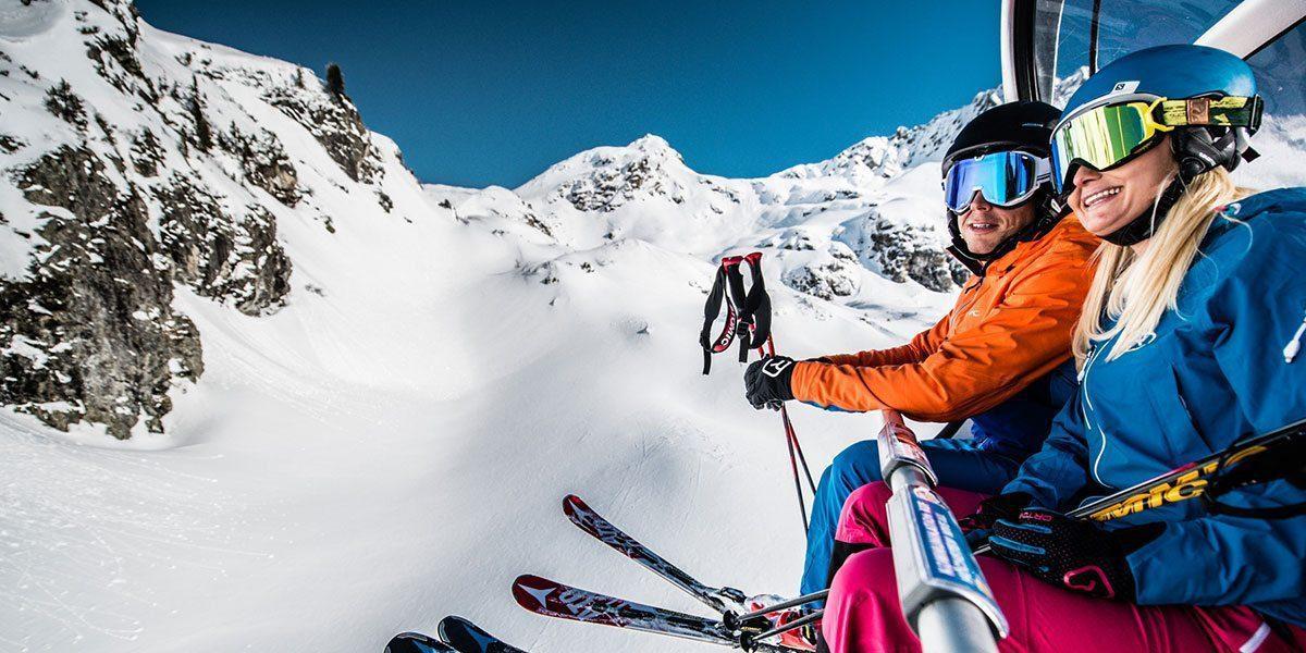 Skifahren in Obertauern, Skiurlaub