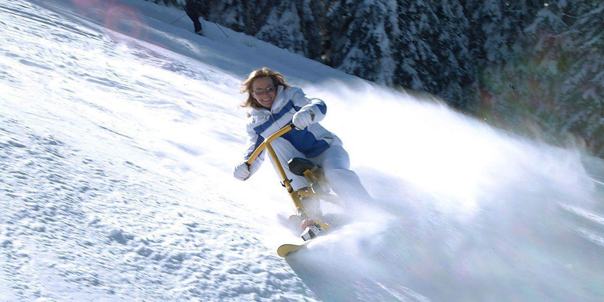 Snowbike in Obertauern, Skiurlaub