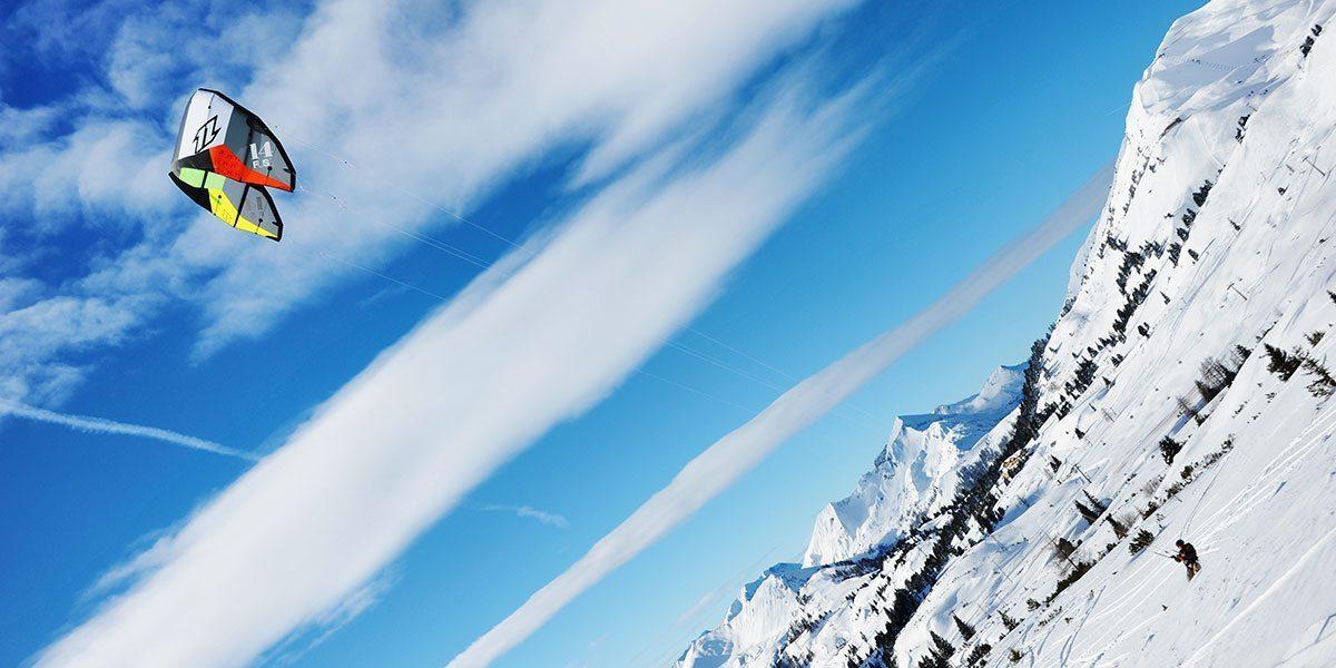 Snowkite in Obertauern, Skiurlaub