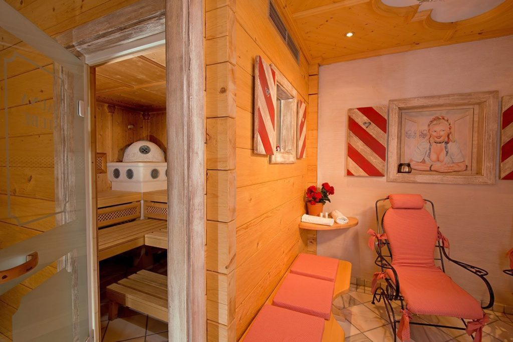 Sauna & Sanarium in der Hotel-Pension in Obertauern